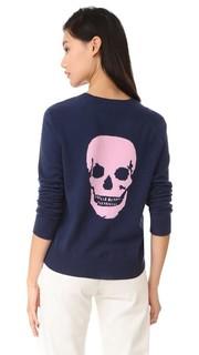 Кашемировый свитер Amber с черепом 360 Sweater