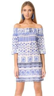 Пляжное платье с открытыми плечами Shoshanna