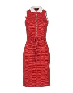 Платье до колена Fred Perry