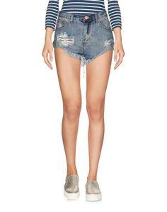 Джинсовые шорты Glamorous
