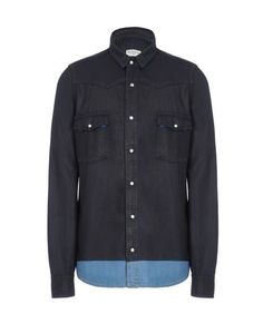 Джинсовая рубашка Dries Van Noten
