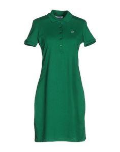 Короткое платье Lacoste