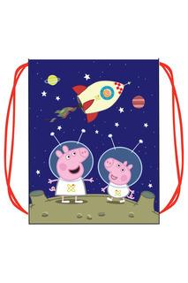 Мешок для обуви Космос Peppa Pig
