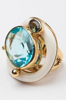 "Кольцо ""Голубой топаз"" Patricia Bruni"