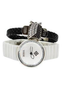 Набор: часы, браслет BORA