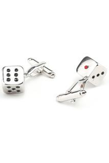 Запонки игральные кости кубики Churchill accessories