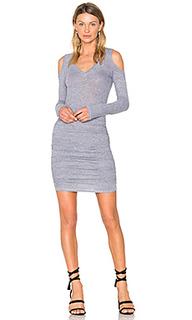 Платье с открытыми плечами - Lanston