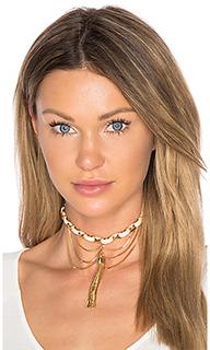 Tassel chain choker - Ettika