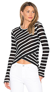 Stripe crossfront top - Splendid