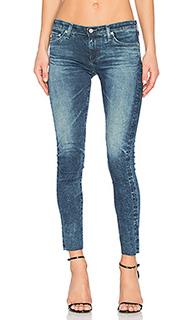 Узкие укороченные джинсы - AG Adriano Goldschmied