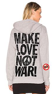 Худи make love not war - Madeworn