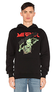 Худи mirror skull - OFF-WHITE