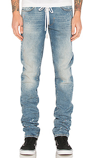 Diag slim 5 pocket denim - OFF-WHITE
