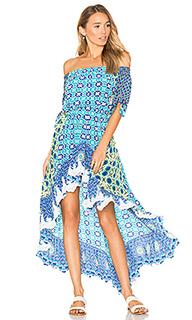 Платье со спущенными плечами - ROCOCO SAND