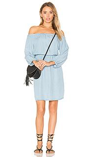 Мини-платье с открытыми плечами - Splendid