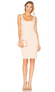 Платье с глубоким декольте - BLAQUE LABEL