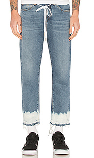 Crop 5 pocket denim - OFF-WHITE