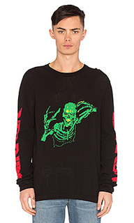 Свитер skull knit rock - OFF-WHITE