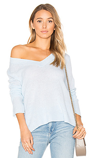 Swing v neck sweater - White + Warren