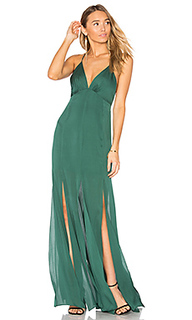 Low back fitted cami gown - Haute Hippie