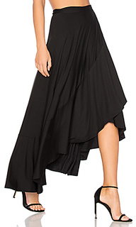 Ruffle wrap skirt - Rachel Pally