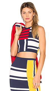 Tommy x gigi patchwork top - Tommy Hilfiger