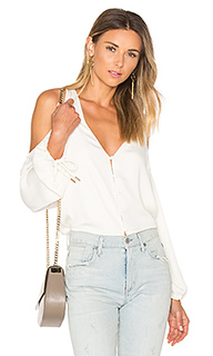 The v-neck shoulder blouse - LAcademie