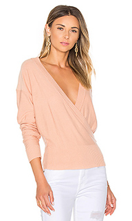 Danna surplice sweater - by the way.