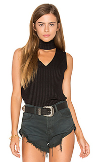 Sleeveless dethatched turtleneck - LNA