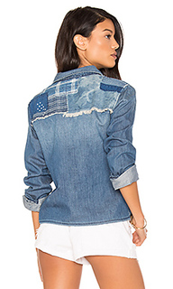 Укороченная рубашка на пуговицах josie - Joes Jeans