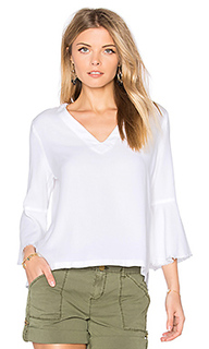 Roxy frayed top - maven west
