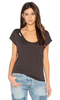 Deconstructed shirttail tee - Chaser