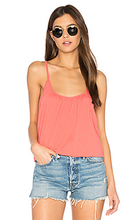 Cross back shirred cami - Chaser