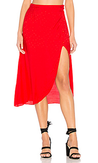 Gabriella button up midi skirt - For Love & Lemons