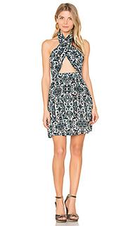 Платье-холтер с запахом cora - Raga