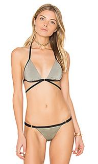 Renegade wrap tri bikini top - Beach Bunny