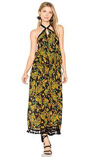 Платье на бретельках с рюшами tropical paradise - Raga