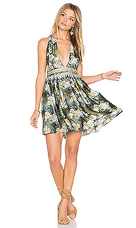 Daydream mini printed dress - Free People