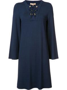 короткое платье шифт  Michael Kors