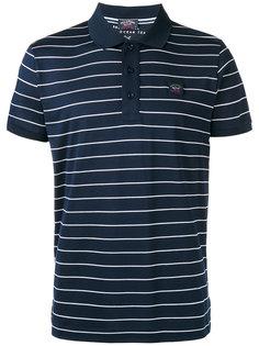 рубашка-поло в полоску Paul & Shark