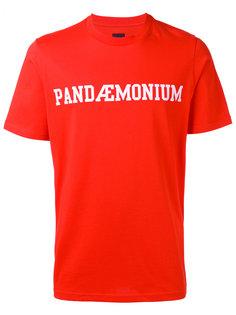 футболка с принтом Pandaemonium  Oamc