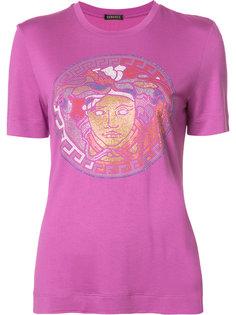 футболка Medusa с заклепками Versace