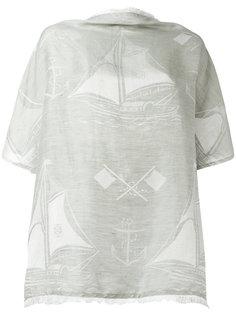 блузка с принтом морских мотивов Loewe