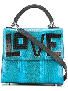 сумка-тоут с аппликацией love Les Petits Joueurs
