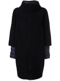 стеганое пальто из овчины  Liska