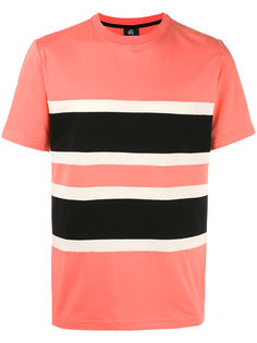 футболка дизайна колор-блок Paul Smith Jeans