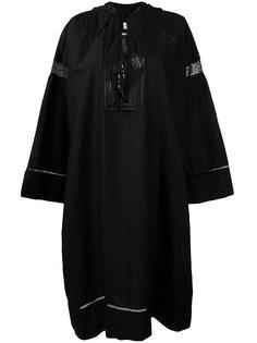 платье-кафтан с капюшоном Veronique Branquinho