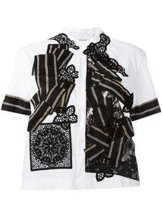 рубашка лоскутного кроя Antonio Marras