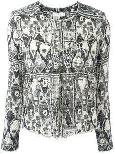 куртка с геометрической вышивкой Iro