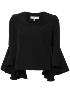 блузка с пышными рукавами Milly